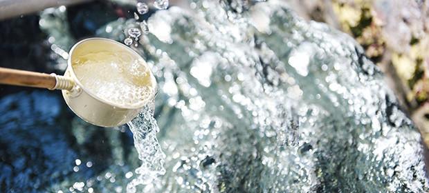北アルプスの大自然が作り上げた美味しい天然水
