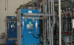 多段式イオン交換電気透析装置