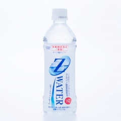 Z Water [Food with nutrient function claims (Zinc)] 500 mL