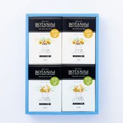 BOTANIful Bath Salt Gift Box Fresh Herbs 8 Pkts & Sweet Herbs 8 Pkts